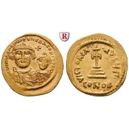 Byzanz, Heraclius und Heraclius Constantinus, Solidus 610-615, vz