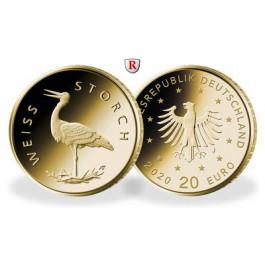 Bundesrepublik Deutschland, 20 Euro 2020, nach unserer Wahl, D-J, 3,89 g fein, st