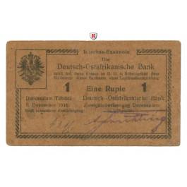Deutsch-Ostafrika, 1 Rupie 01.02.1915, III-, Rb. 926