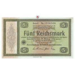 Konversionskasse für Auslandsschulden, 5 Reichsmark 28.08.1933, I, Rb. 700a