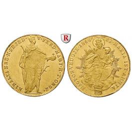 Ungarn, Freiheitskrieg, Dukat 1848, 3,44 g fein, vz