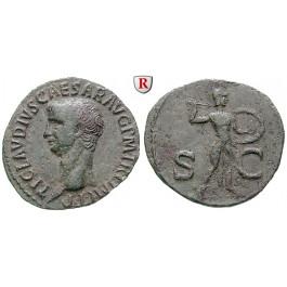 Römische Kaiserzeit, Claudius I., As 50-54, vz/ss-vz