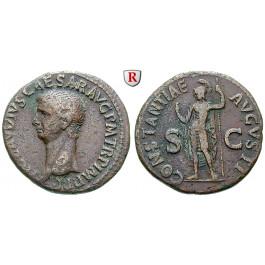 Römische Kaiserzeit, Claudius I., As 50, ss+
