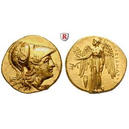 Makedonien, Königreich, Alexander III. der Grosse, Stater 310-301 v.Chr., f.vz/vz
