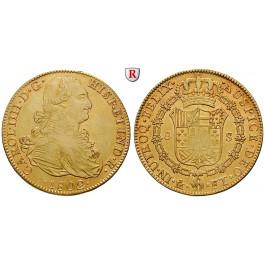 Mexiko, Carlos IV., 8 Escudos 1802, ss