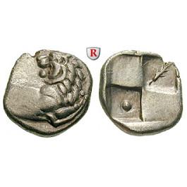 Thrakien, Chersonnesos, Hemidrachme 386-338 v.Chr., ss-vz