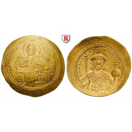 Byzanz, Constantinus IX., Histamenon nomisma 1042-1055, ss-vz