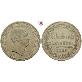 Braunschweig, Königreich Hannover, Ernst August, Taler 1839, ss-vz