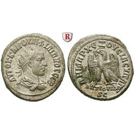 Römische Provinzialprägungen, Seleukis und Pieria, Antiocheia am Orontes, Philippus I., Tetradrachme 249, vz-st/vz