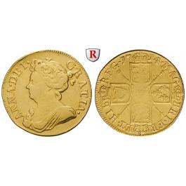 Grossbritannien, Anne, Guinea 1714, ss