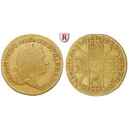 Grossbritannien, George I., Guinea 1715, f.ss