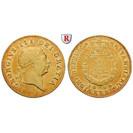 Grossbritannien, George III., Half-Guinea 1809, ss-vz