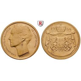 Luxemburg, Jean, 40 Francs (Medaille) 1964, vz-st