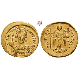 Byzanz, Justinian I., Solidus 538-545, vz+