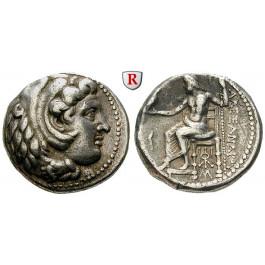 Makedonien, Königreich, Alexander III. der Grosse, Tetradrachme 325-323 v.Chr., ss-vz