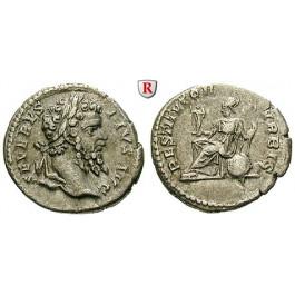 Römische Kaiserzeit, Septimius Severus, Denar 201-210, ss-vz