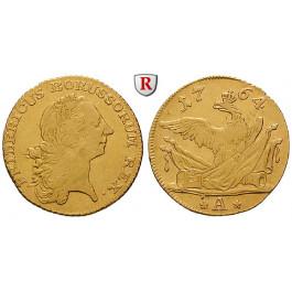 Brandenburg-Preussen, Königreich Preussen, Friedrich II., Friedrichs d`or 1764, ss
