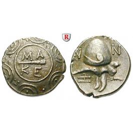 Makedonien, Königreich, Autonome Prägung z. Z. Philipp V. u. Perseus, Tetrobol 184-179 v.Chr., f.vz