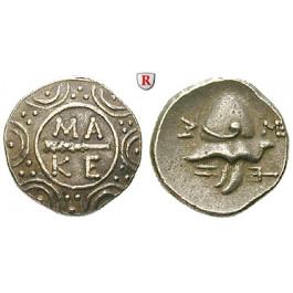 Makedonien, Königreich, Autonome Prägung z. Z. Philipp V. u. Perseus, Tetrobol 184-179 v.Chr., ss-vz