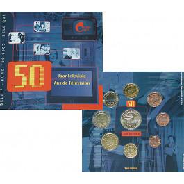 Belgien, Königreich, Albert II., Euro-Kursmünzensatz 2003, st