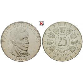 Österreich, 2. Republik, 25 Schilling 1964, PP