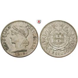 Portugal, Escudo 1916, ss