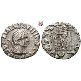 Baktrien und Indien, Königreich Baktrien, Hermaios, Drachme, ss