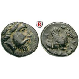 Mysien, Adramyteion, Bronze um 350 v.Chr., f.vz