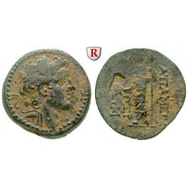 Syrien, Königreich der Seleukiden, Alexander I. Balas, Bronze 163 = 150-149 v.Chr., ss