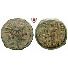 Syrien, Königreich der Seleukiden, Alexander II., Bronze, ss