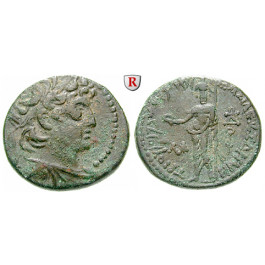 Syrien, Königreich der Seleukiden, Demetrios II., 1. Regierung, Bronze, ss-vz