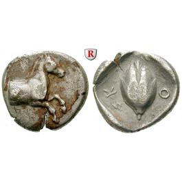 Thessalien, Skotussa, Drachme 480-400 v.Chr., ss
