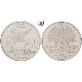 Bundesrepublik Deutschland, 5 DM 1979, Archäologisches Institut, J, PP, J. 425