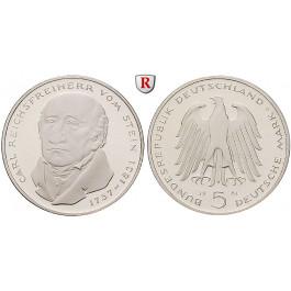 Bundesrepublik Deutschland, 5 DM 1981, v. Stein, G, vz-st, J. 430