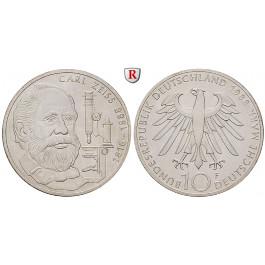 Bundesrepublik Deutschland, 10 DM 1988, Zeiss, F, bfr., J. 444