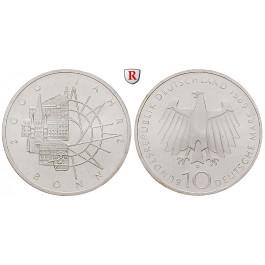 Bundesrepublik Deutschland, 10 DM 1989, 2000 Jahre Bonn, D, bfr., J. 447