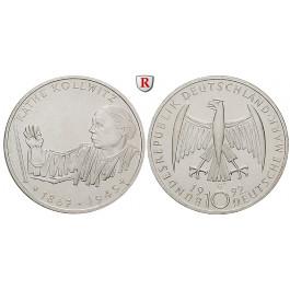 Bundesrepublik Deutschland, 10 DM 1992, Käthe Kollwitz, G, bfr., J. 453