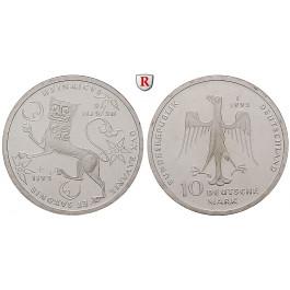 Bundesrepublik Deutschland, 10 DM 1995, Heinrich der Löwe, F, bfr., J. 462
