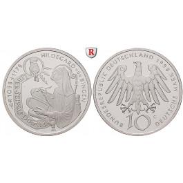 Bundesrepublik Deutschland, 10 DM 1998, PP, J. 468