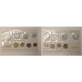 Bundesrepublik Deutschland, Kursmünzensatz 1969, nicht originalverpackt, F, PP