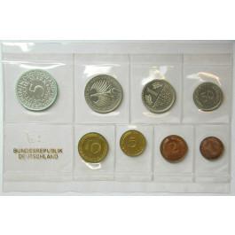 Bundesrepublik Deutschland, Kursmünzensatz 1969, nicht originalverpackt, J, PP