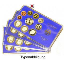 Bundesrepublik Deutschland, Kursmünzensatz 1984, DFGJ komplett, PP