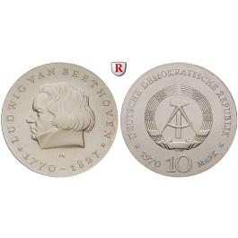 DDR, 10 Mark 1970, van Beethoven, st, J. 1528