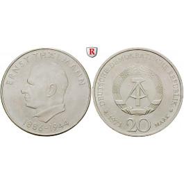DDR, 20 Mark 1971, Thälmann, vz-st, J. 1535