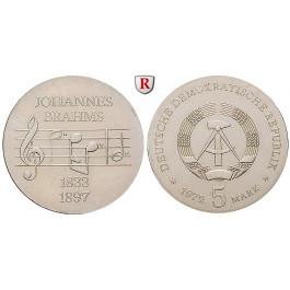 DDR, 5 Mark 1972, Brahms, st, J. 1540