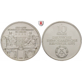 DDR, 10 Mark 1985, Humboldt Universität, st, J. 1606