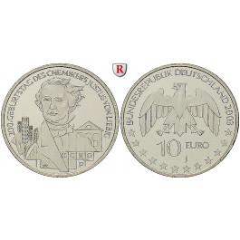 Bundesrepublik Deutschland, 10 Euro 2003, Justus von Liebig, J, bfr., J. 498