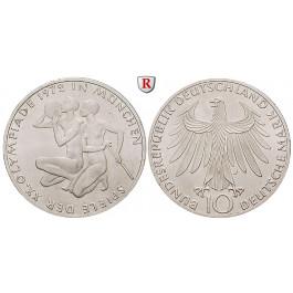 Bundesrepublik Deutschland, 10 DM 1972, Sportler, F, PP, J. 403