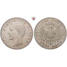 Deutsches Kaiserreich, Bayern, Otto, 5 Mark 1908, D, ss, J. 46