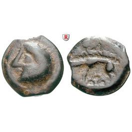 Gallien, Leuci, Potin-Einheit, ss